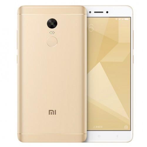 Телефон смартфон Xiaomi Redmi Note 4X 3GB + 16GB Gold 7 золотой Москва опт и розница