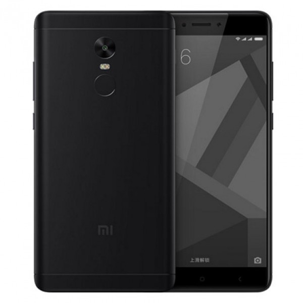 Телефон смартфон Xiaomi Redmi Note 4X 3GB + 16GB Black черный Москва опт и розница