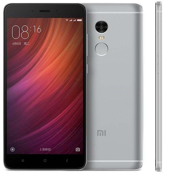 Телефон смартфон Xiaomi Redmi Note 4X 3GB + 16GB Gray серый Москва опт и розница